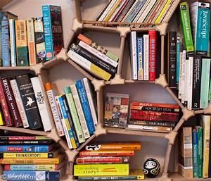Hero Voronoi Bookshelf