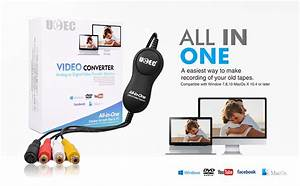 Amazon Com  Ucec Usb 2 0 Video Capture Card Device  Vhs
