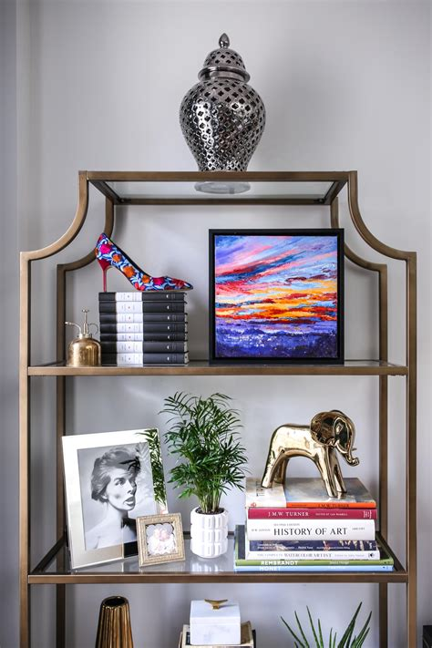 Glam Home Office Decor