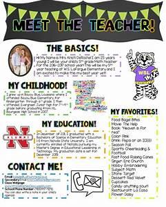 1000 ideas about teacher newsletter on pinterest teacher newsletter templates meet the for Meet the teacher newsletter