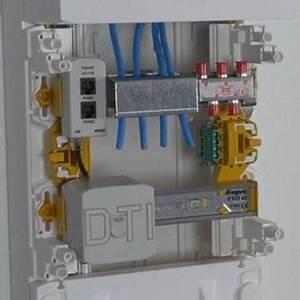 Branchement Coffret De Communication Legrand : installer une prise lectrique rj 45 espace grand public ~ Dailycaller-alerts.com Idées de Décoration