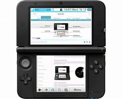 3ds Nintendo Internet Browser Internetbrowser Navigateur Navegador