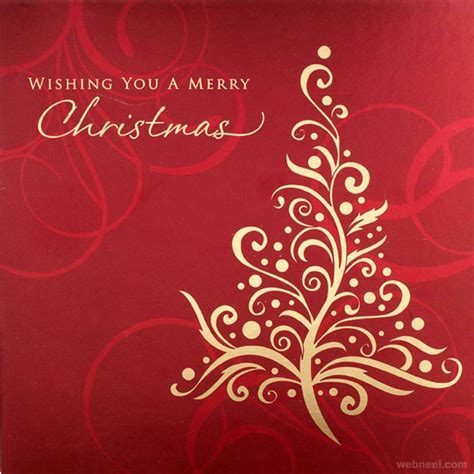 35 Beautiful Christmas Greeting Card Designs And Graphic