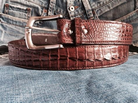 Custom Brown Crocodile Caiman Hornback Head To Tail Skin Leather Mens Belt How Much Is A Hermes Belt In Singapore Pattern For Murray Lawn Mower Gasp Lifting Review Handmade Leather Belts Animal Print Uk 2x42 Craftsman Grinder Knife Making Best Sanders Reviews Lowes John Deere