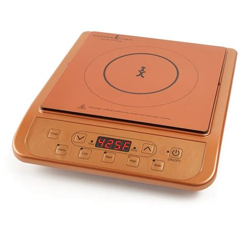 amazoncom copper chef induction cooktop copper