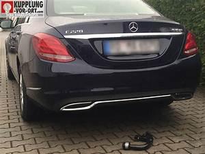 Anhängerkupplung Mercedes C Klasse : anh ngerkupplung mercedes einbau vom profi kupplung ~ Jslefanu.com Haus und Dekorationen