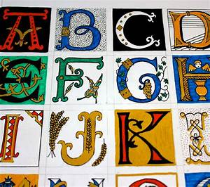 search results for illuminated letters alphabet template With illuminated letters alphabet
