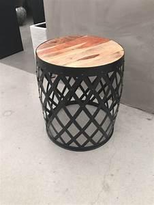 Beistelltisch Schwarz Rund : beistelltisch rund metall schwarz beistelltisch industrie ~ Michelbontemps.com Haus und Dekorationen