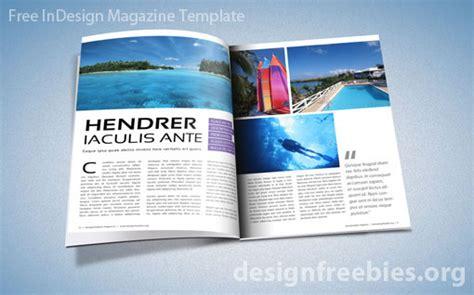adobe indesign magazine template indesign