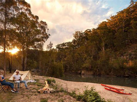 camping sydney near river spots colo
