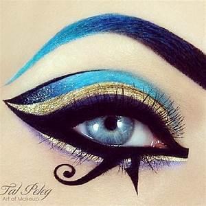 Blue and gold | Makeup Art | Makeup,Eye makeup art ja Eye ...