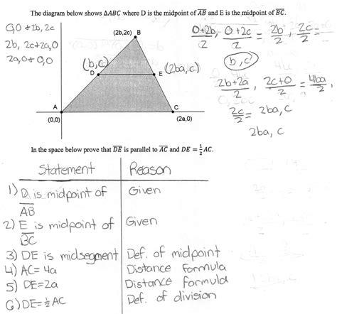 Triangle Midsegment Proof