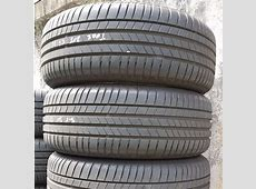 4pc used 20555R16 Bridgestone Turanza T005 tyres, 90%
