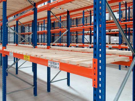 used pallet racking what may limit storage capacity l the pallet racking