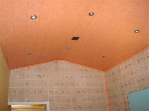 les faux plafond en pvc poser un faux plafond dans appartement