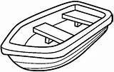 Boat Coloring Pages Row Printable Clipart Speed sketch template