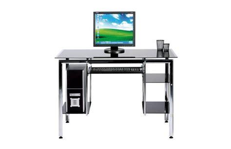 modern tempered glass computer desk modern computer desk stand telma in tempered glass and