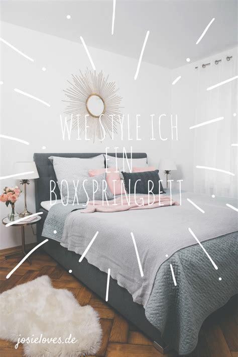 Weisse Farbe Die Gut Deckt by Unser Neues Schlafzimmer Mit Einem Boxspringbett