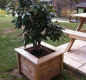 Fleur En Bois : pot de fleur jardini re sur mesure bois vercors piscine ~ Dallasstarsshop.com Idées de Décoration
