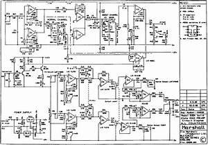 Marshall 75 Reverb Schematic