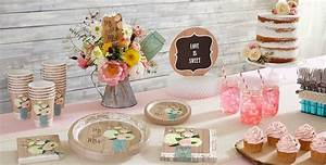 rustic wedding party supplies bridal shower themes With party city wedding shower