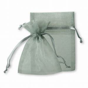 sheer organza favor bags silver gray 403812 403833 With silver wedding favor bags