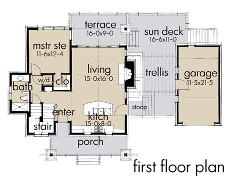 house plans with kitchen in front house plan of the week tiny cabin getaway the house
