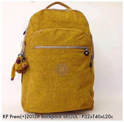 jual tas ransel import kipling premium backpack seoul 2
