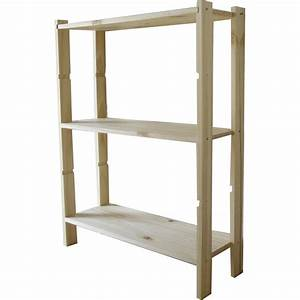 Etagere Chaussure Leroy Merlin : etag re en pin 3 tablettes leine l65xh90xp28cm leroy merlin ~ Zukunftsfamilie.com Idées de Décoration