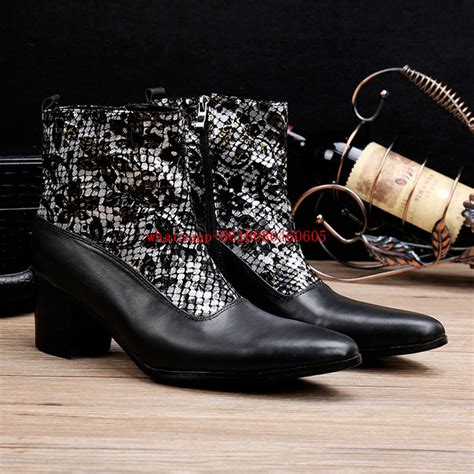 Popular Western Dress Boots For Men Buy Cheap