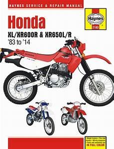 Honda Xl600r  Xr600r  Xr650l  Xr650r Repair Manual 1983