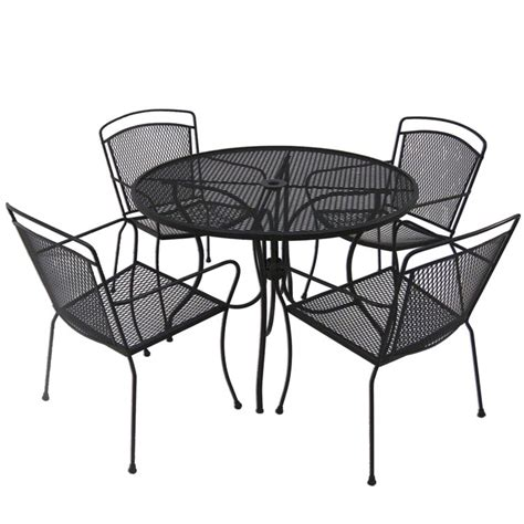 patio black wrought iron patio furniture home interior
