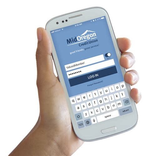 Banking Mobile by Mobile Banking Mid Oregon Credit Union