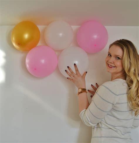 how to make a balloon diy balloon wall images