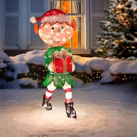 outdoor christmas decorations images  pinterest