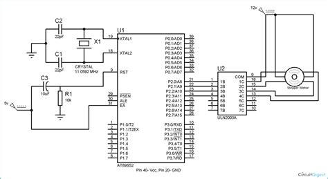 Stepper Motor Interfacing With Microcontroller Ats