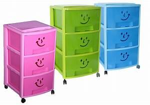 Rollcontainer Mit Schubladen : rollcontainer spielzeugkiste mit 3 schubladen gesicht frischhalten aufbewahren k che ~ Orissabook.com Haus und Dekorationen