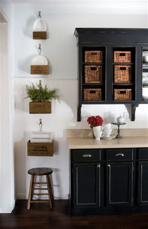 Lettered Cottage Kitchen