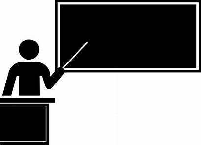 Teacher Clipart Icon Teaching Male Clip Classroom