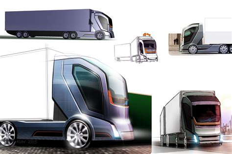 trucks of the future safer and more efficient