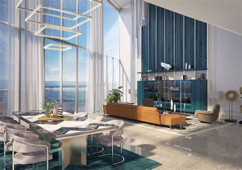Luxury Condos in Brickell Miami  Brickell Condos   Interiors