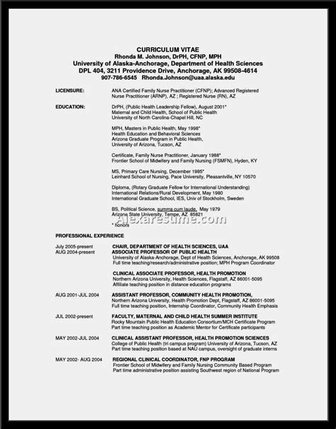 Practitioner Resume by Practitioner Resume Exles Resume Template
