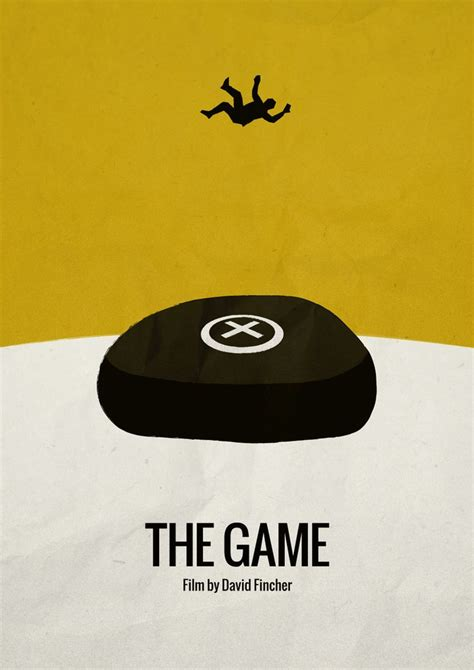 The Game 1997 Minimalist Movie Poster Film By David