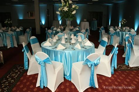 New Light Blue And White Wedding Decorations Decorating