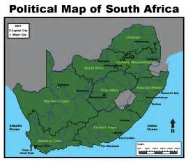 South Africa Map with Scale