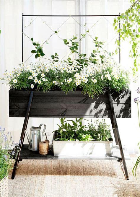 raised planter box idea flowers   smile pinterest