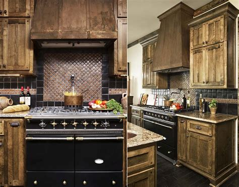 Custom Backsplashes For Kitchens : 20 Copper Backsplash Ideas That Add Glitter And Glam To