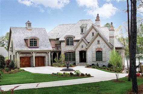 Stone And Brick French Country  17528lv Architectural