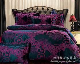 Royal Blue Bath Sets by European Bedding Sets Dark Purple Bedding Cover Set Brand