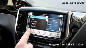 Mise A Jour Gps Peugeot 2008 Gratuite : peugeot 208 ecran tactile auto moto magazine auto et moto ~ Maxctalentgroup.com Avis de Voitures